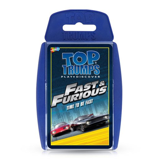 Picture of Fast And Furious Top Trumps Card Game