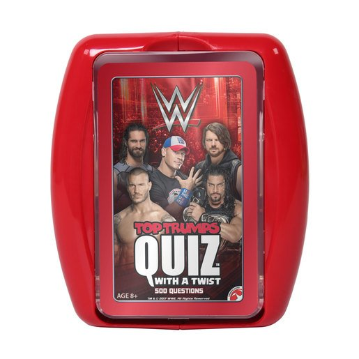 Picture of Wwe Top Trumps Quiz Card Game