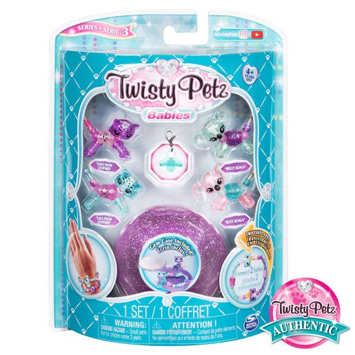 Picture of Twisty Petz Babies 4 Pack - Snow Leopards and Koalas