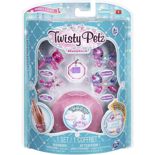 Picture of Twisty Petz Series 3 Babies - 4 Pack Snow Leopards and Unicorns