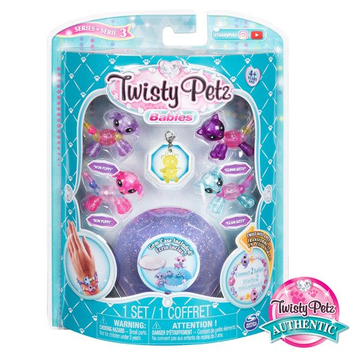 Picture of Twisty Petz Series 3 Babies - 4 Pack Puppies and Kitties