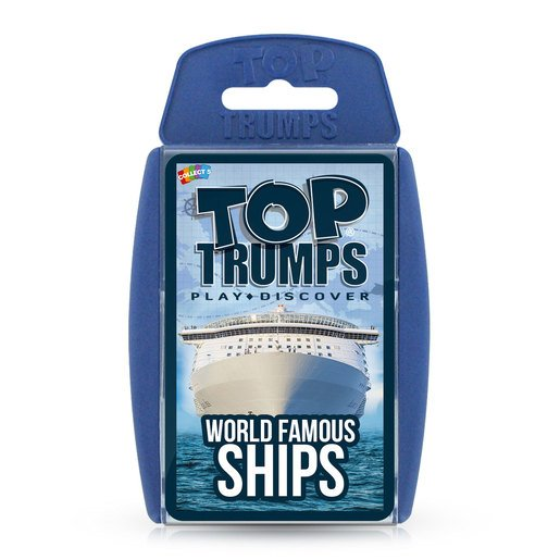Picture of World Famous Ships Top Trumps Card Game