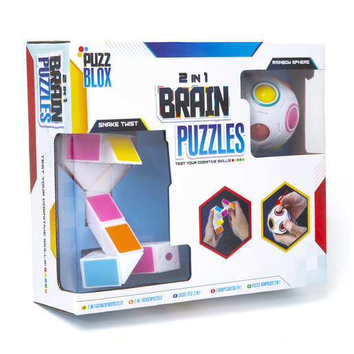 Picture of 2 In 1 Brain Puzzles