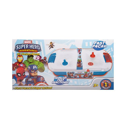 Picture of Superhero Adventures Small Air Hockey Game