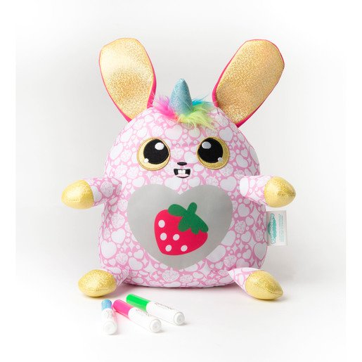 Picture of Rainbowcorns Colour Your Own Plush - Strawberry