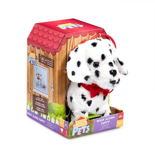 Picture of Pitter Patter Pets Walk Along Soft Toy - Dalmatian