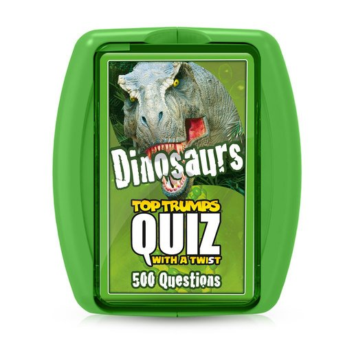 Picture of Dinosaurs Top Trumps Quiz Card Game