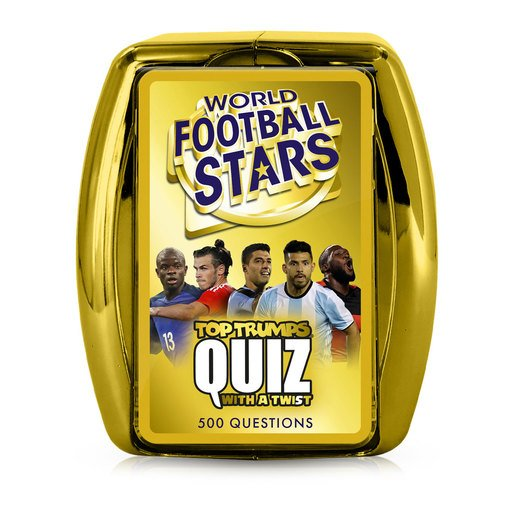Picture of World Footballs Stars Top Trumps Quiz Card Game