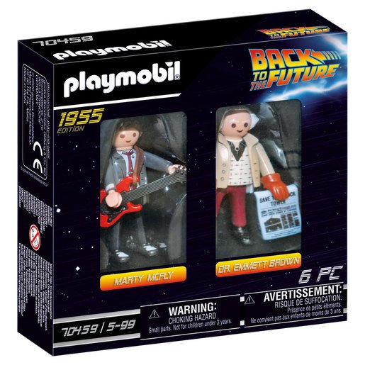 Picture of Playmobil 70459 Back to the Future Marty and Doc
