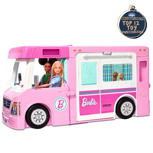 Picture of Barbie 3-In-1 Dreamcamper Playset