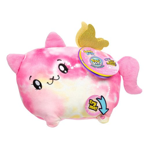 Picture of Pikmi Pops Twinkle Fairies Soft Toy - Beams The Cat