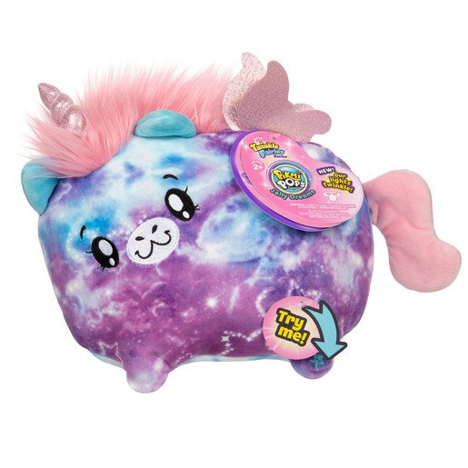 Picture of Pikmi Pops Twinkle Fairies Soft Toy - Stella The Unicorn