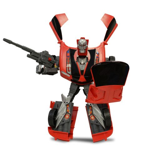 Picture of Car-Bots Figure - Red Camaro