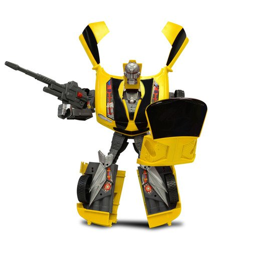 Picture of Car-Bots Figure - Yellow Camaro