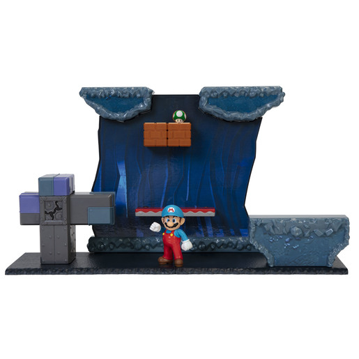 Picture of Super Mario Underground Playset With 2.5 Inch Figure