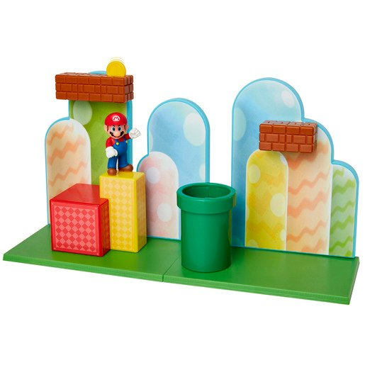 Picture of Super Mario Acorn Plains Playset With 2.5 Inch Figure