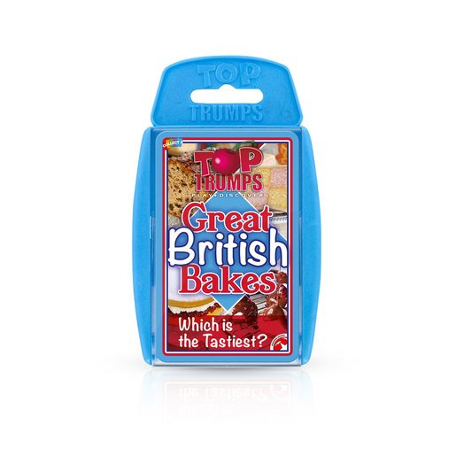 Picture of Great British Bakes Top Trumps Card Game