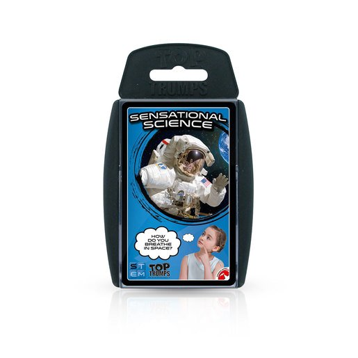 Picture of Sensational Science Top Trumps Card Game