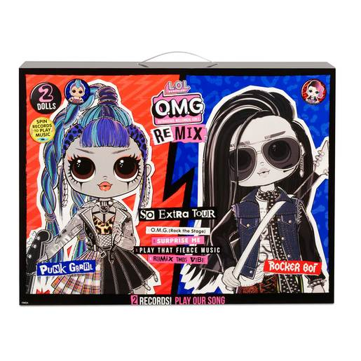 Picture of L.O.L Surprise! Outrageous Millennial Girls Remix 2 Pack - Punk Grrrl and Rocker Boi Dolls