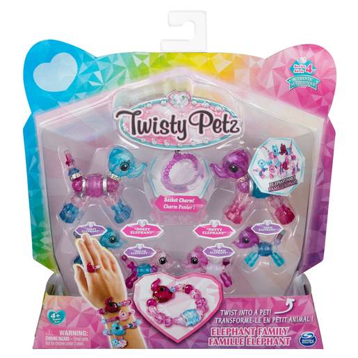 Picture of Twisty Petz Series 4 - Elephan Family Collectible Bracelet Set