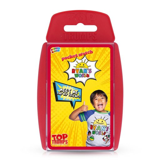 Picture of Ryans World Top Trumps Card Game
