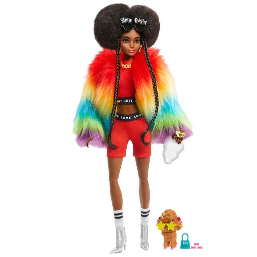 Picture of Barbie Extra Doll - Rainbow Braids
