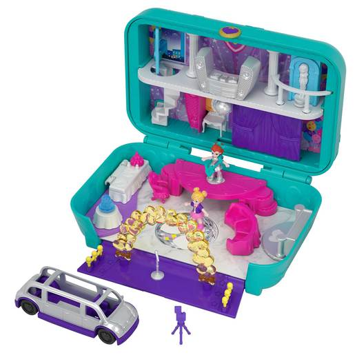 Picture of Polly Pocket Playset Hidden Places Dance Par-taay! Case