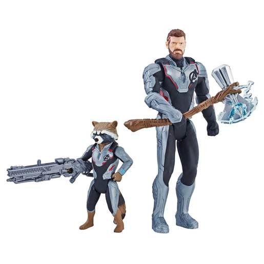 Picture of Marvel Avengers Action Figures - Thor and Rocket Racoon