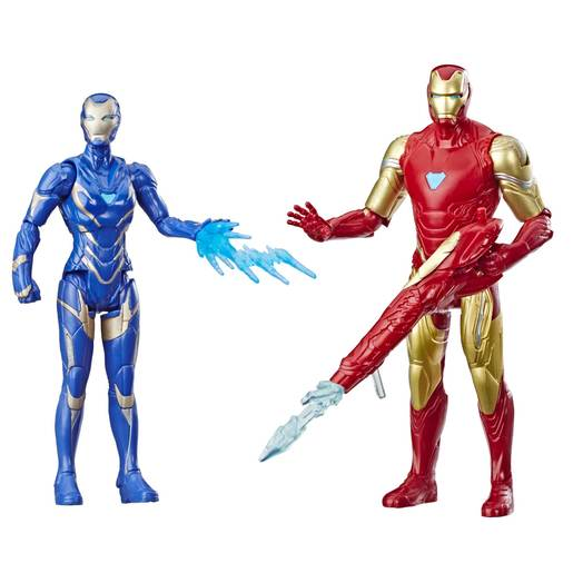 Picture of Marvel Avengers Action Figures - Iron Man and Marvel's Rescue