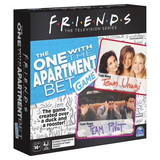 Picture of Friends - The One with the Apartment Bet Game