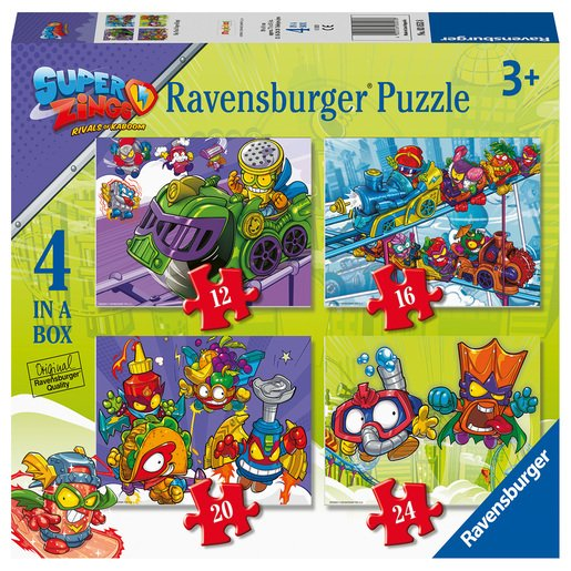 Picture of Ravensburger SuperZings 4 in Box Puzzle