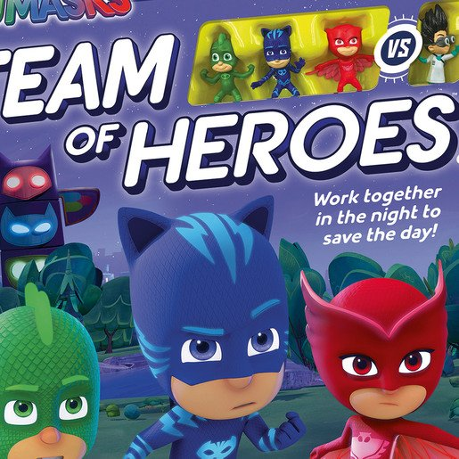 Picture of Ravensburger PJ Masks - Team of Heroes Game