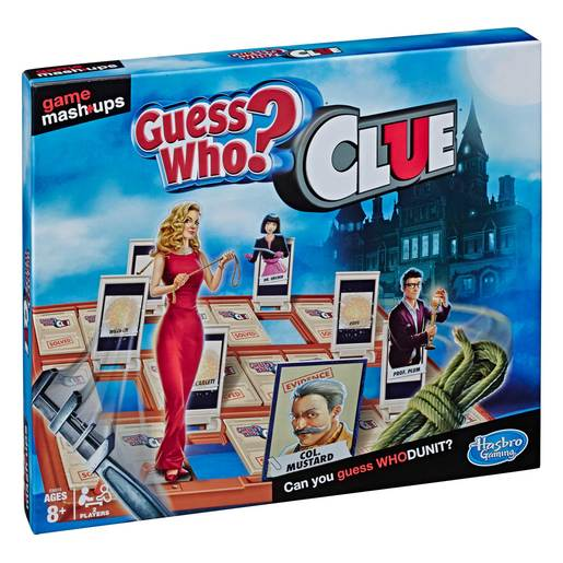 Picture of Cluedo Guess Who? Game