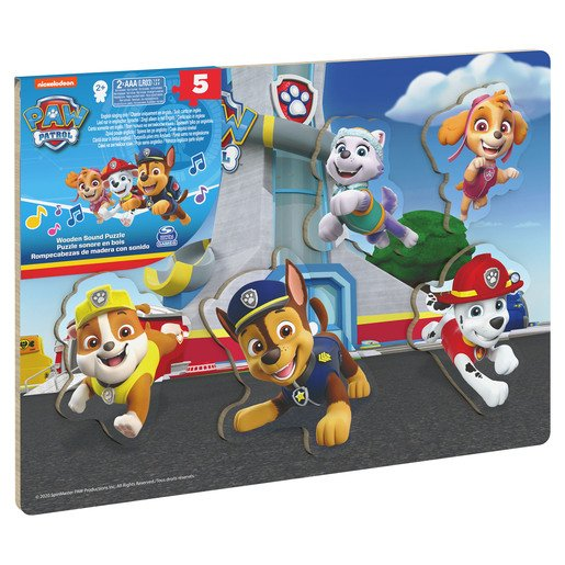 Picture of Nickelodeon PAW Patrol Sound Kids' Jigsaw Puzzle - 5 Pieces
