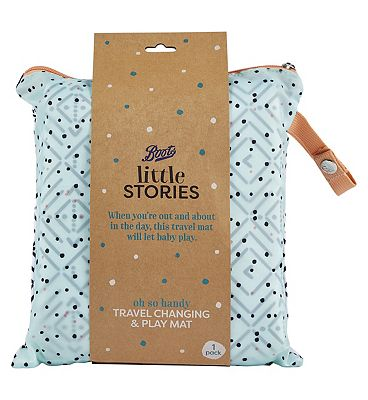 Picture of Boots Little Stories Play / Travel Change Blanket