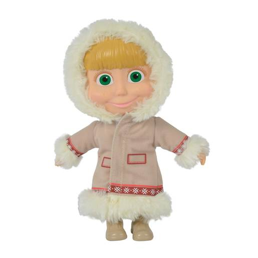 Picture of Masha and the Bear 23cm Doll - Beige