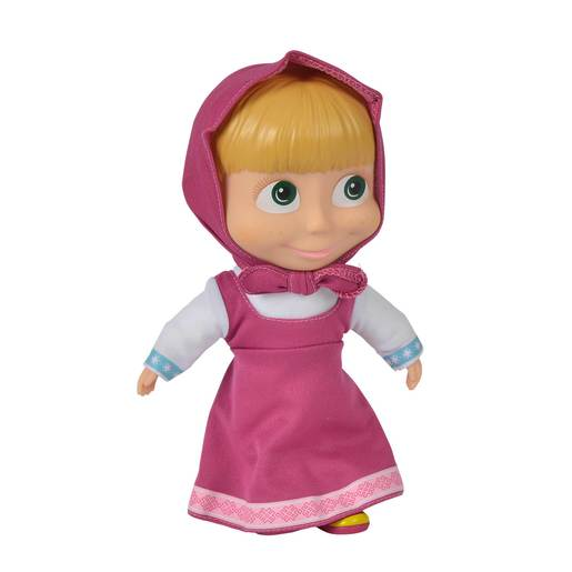 Picture of Masha and the Bear 23cm Doll - Pink