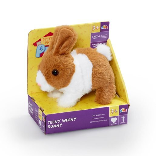 Picture of Pitter Patter Pets Teeny Weeny Bunny - Brown Bunny