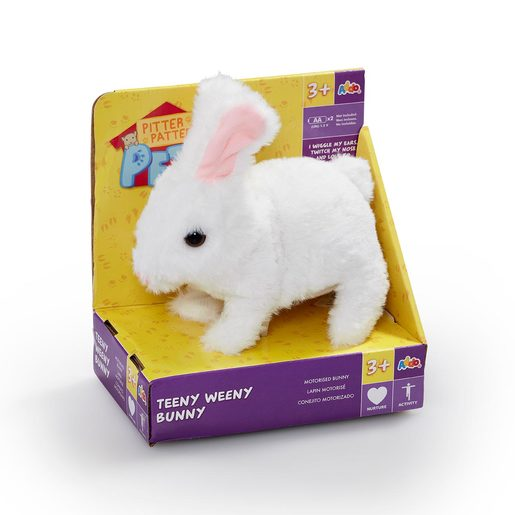 Picture of Pitter Patter Pets Teeny Weeny Bunny - White Bunny