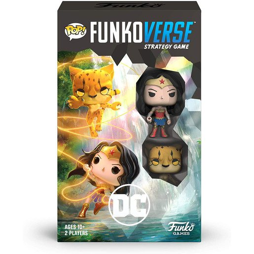 Picture of Funkoverse Strategy Game: DC Wonder Woman & The Cheetah