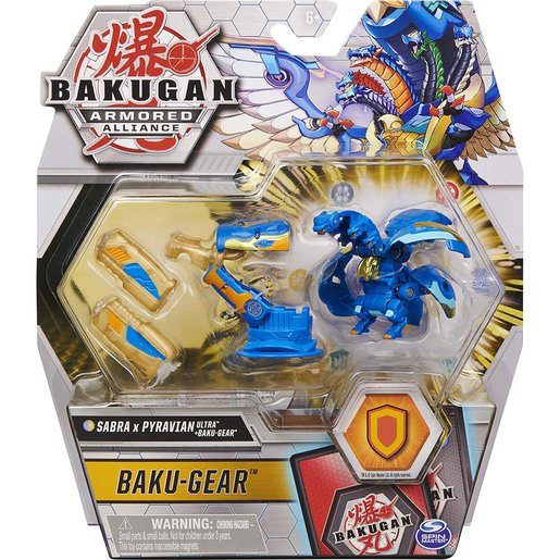 Picture of Bakugan Armoured Alliance Baku-Gear - Sabra x Pyravian