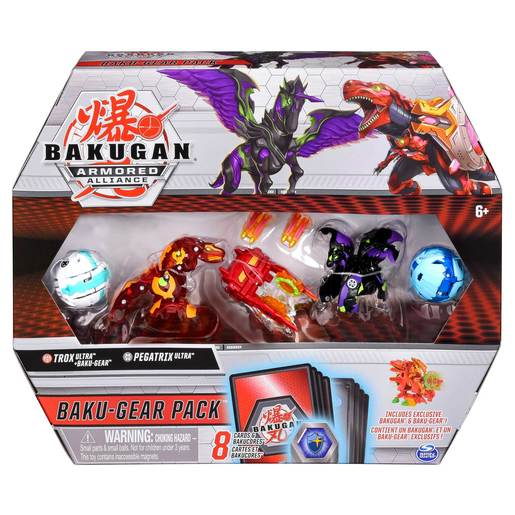 Picture of Bakugan Armoured Alliance Baku-Gear Pack - Trox and Pegatrix