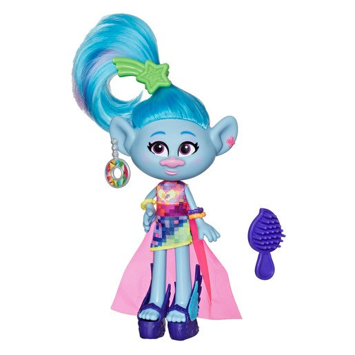 Picture of Dreamworks Trolls Work Tour Figure - Glam Chenille