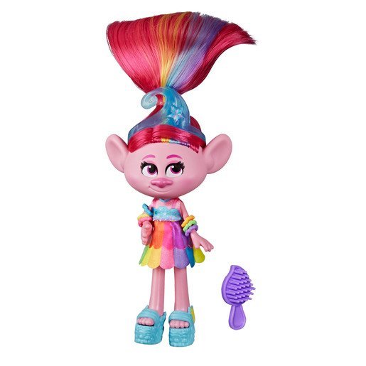Picture of Dreamworks Trolls Work Tour Figure - Glam Poppy