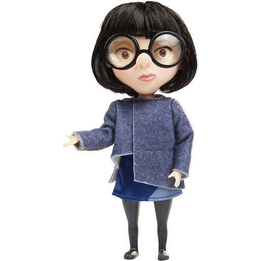 Picture of Disney Pixar Incredibles Black Outfit Costumed Action Figure - Edna