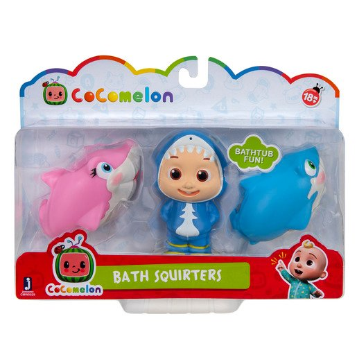 Picture of CoComelon Bath Squirters - JJ and 2 Sharks