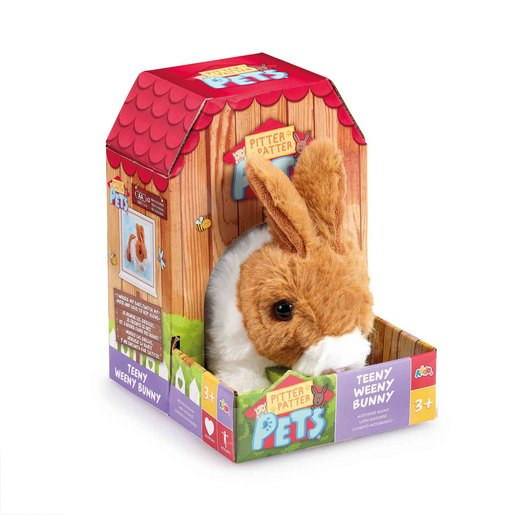 Picture of Pitter Patter Pets Teeny Weeny Bunny - Brown