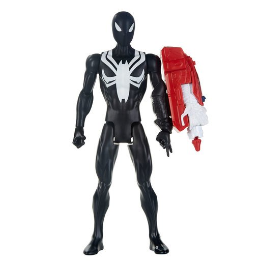 Picture of Marvel Spider-Man Titan Hero 30cm Figure - Black Suit Spider-Man