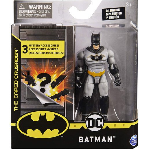Picture of Batman The Caped Crusader 10cm Action Figure  - Rebirth Batman
