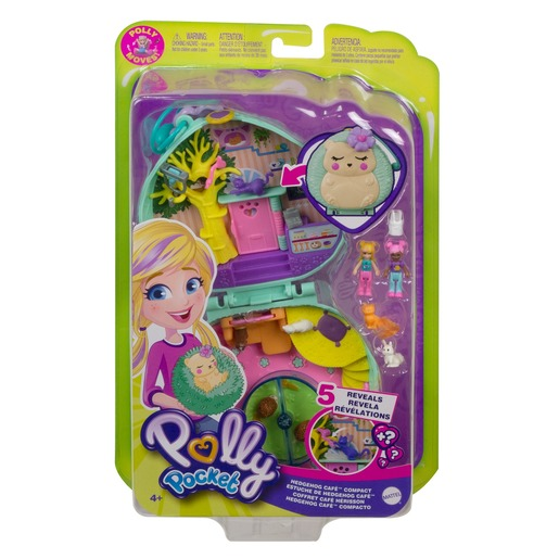 Picture of Polly Pocket Playset 'Hedgehog Café' Compact
